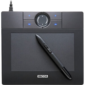 Used Wacom Bamboo - digitizer - USB - MTE450K1