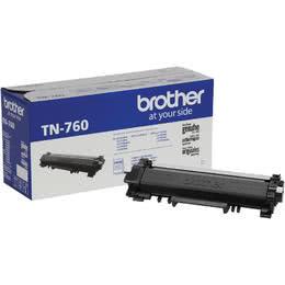Brother TN-760 Original Black Toner Cartridge High Yield Version